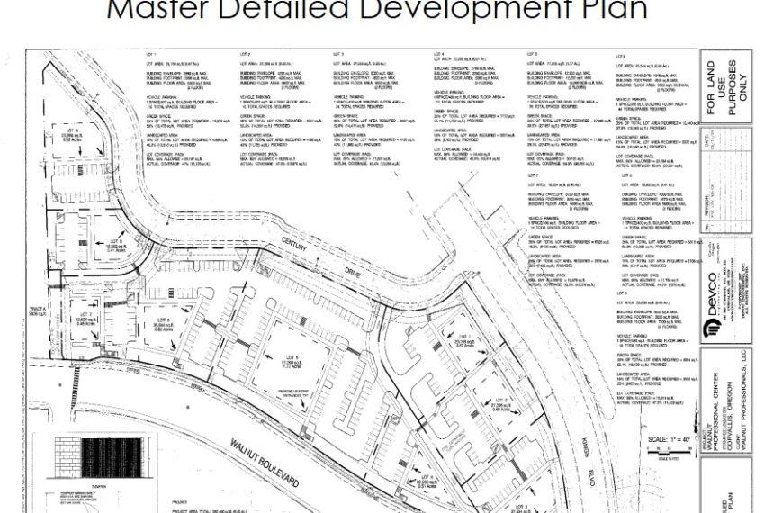 Master Detailed Development Plan