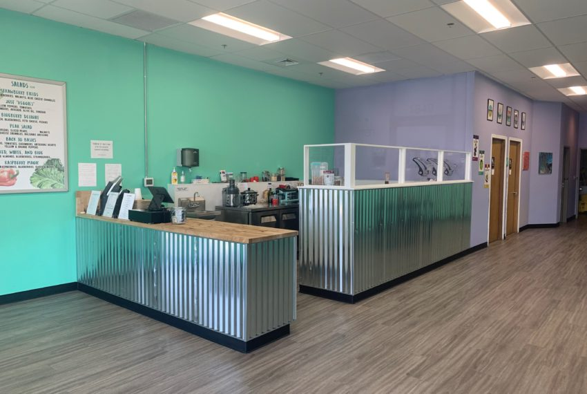 front counter & serving area